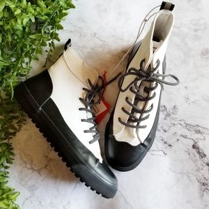 Hunter for Target | Dipped Canvas High Top Sneaker